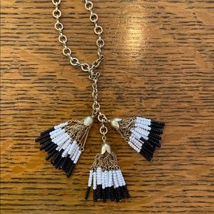 J. Crew Jewelry - J.Crew tassel necklace